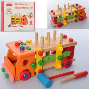 Деревянная игрушка Конструктор MD 2265