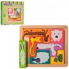 Деревянная игрушка Городок M00750