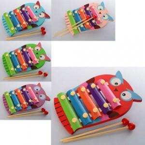 Деревянная игрушка Ксилофон MD 2021