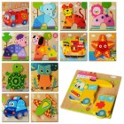 Деревянная игрушка Пазлы MD 0904