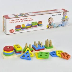 Деревянная игрушка Геометрика C 30321