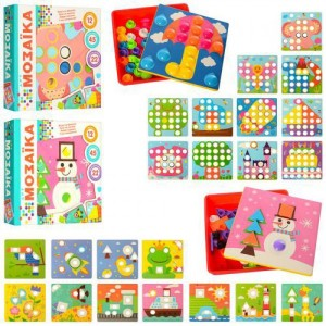 Мозаика с шаблонами 2929-81-1-2