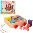 Деревянная игрушка Городок MD 2346