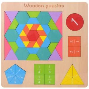 Деревянная игрушка Геометрика MD 2162