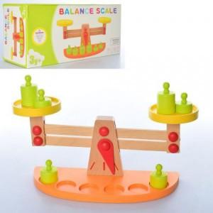 Деревянная игрушка Весы MD 2120
