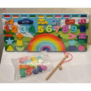 Деревянная игрушка Развивающий центр 2305-91