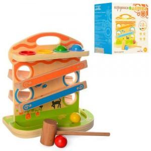 Деревянная игрушка Стучалка MD 1237