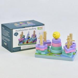 Деревянная игрушка Геометрика С 35685