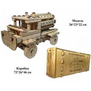 Конструктор из дерева МОЛОКОВОЗ 01-106