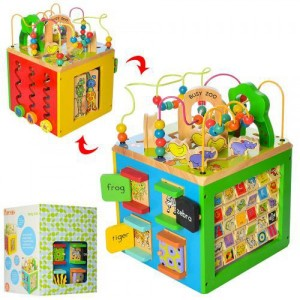 Деревянная игрушка Развивающий центр MD 2105