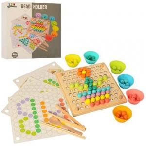 Деревянная игрушка Bead holder MD 2210
