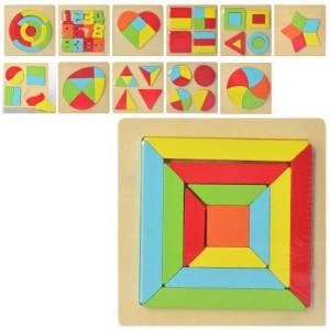 Деревянная игрушка Геометрика MD 2271