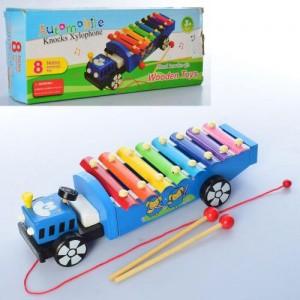 Деревянная игрушка Ксилофон MD 2131