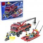 Конструктор BRICK Пожарная техника 907