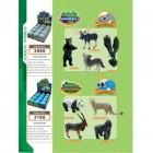 4D конструктор Дикие животные 3166
