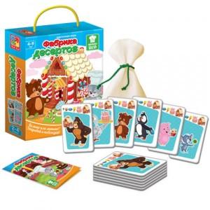 Игра карточная Фабрика десертов VT2308-10