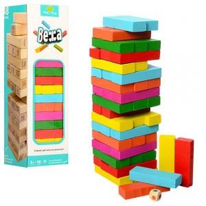 Деревянная игрушка Игра Дженга MD 1210