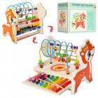 Деревянная игрушка Развивающий центр MD 1543