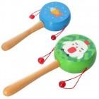 Деревянная игрушка Погремушка MD 2302