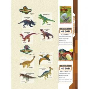 4D конструктор Динозавры 4666