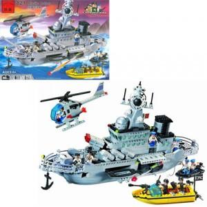 Конструктор BRICK Ракетный крейсер 821