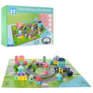 Деревянная игрушка Городок MD 2427