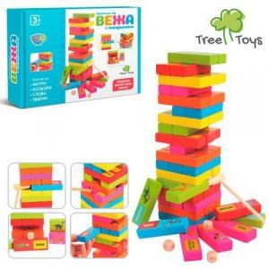 Деревянная игрушка Башня MD 2336