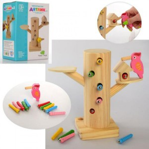 Деревянная игрушка Дятел MD 2850