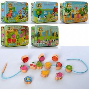 Деревянная игрушка Шнуровка MD 2565