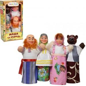Домашний кукольный театр МАША И МЕДВЕДЬ 4 персонажа B068