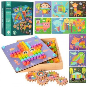 Деревянная игрушка Мозаика MD 2417