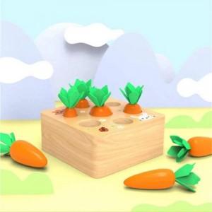 Деревянная игрушка Морковка
