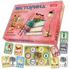 Настольная развивающая игра Викторина детская