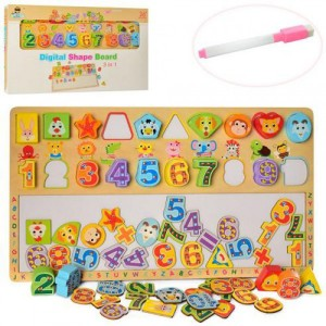 Деревянная игрушка Набор первоклассника MD 2116