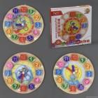 Деревянная игра Часы С 23020
