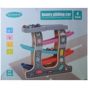 Деревянная игрушка Трек Luxury Gliding Car 4 Track