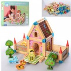 Деревянная игрушка Городок MD 2424
