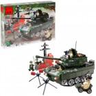 Конструктор BRICK Танк 823