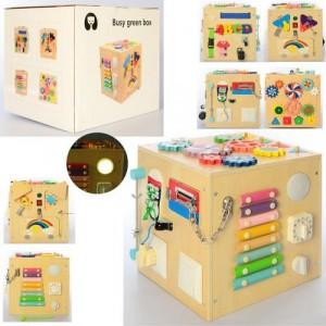 Деревянная игрушка Бизиборд MD 2497