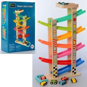 Деревянная игрушка Трек MD 2541
