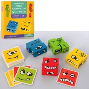 Деревянная игрушка Кубики MD 2511