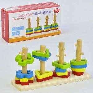 Деревянная игрушка Геометрика С 35684