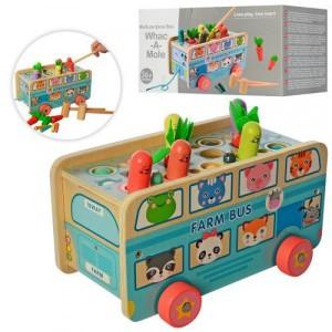 Деревянная игрушка Стучалка MD 2661