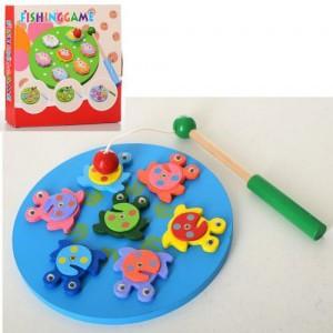 Деревянная игрушка Рыбалка MD 2304