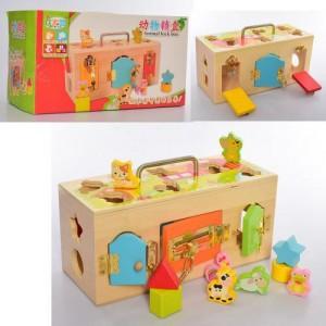 Деревянная игрушка Развивающий центр MD 2182