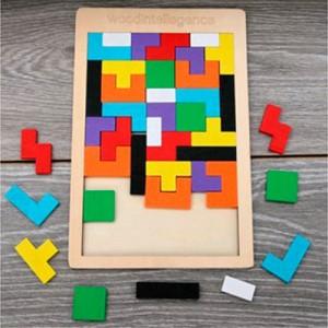 Деревянная игрушка Пазлы MD 2583