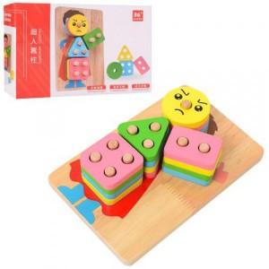 Деревянная игрушка Геометрика MD 1507