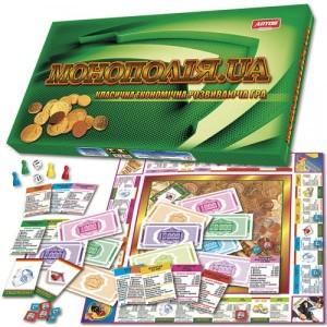Экономическая развивающая игра Монополия UA