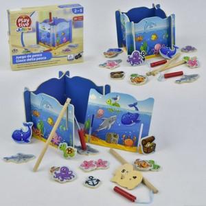 Деревянная игра Рыбалка С 29409