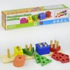 Деревянная логическая игра Геометрика 35920